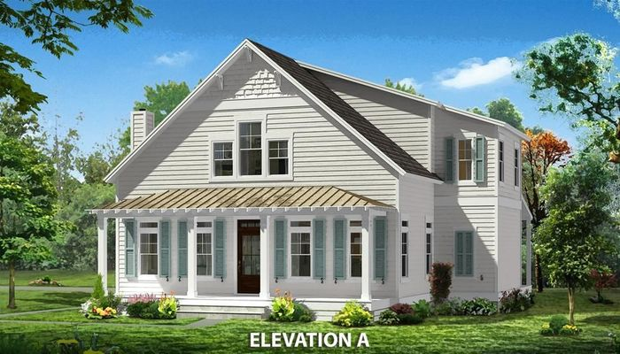 Ready To Build Home In Bluffside at Country Club Creek Community