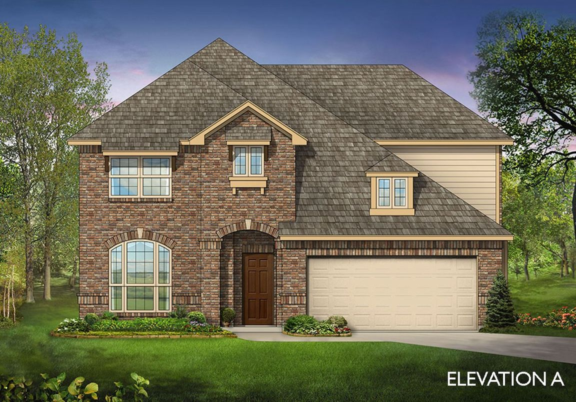 Garden Heights community in Mansfield, TX build by Bloomfield Homes