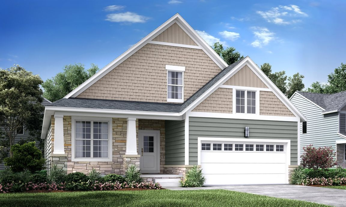 Ready To Build Home In Arbor Farms Communities in Pittsfield Township Community