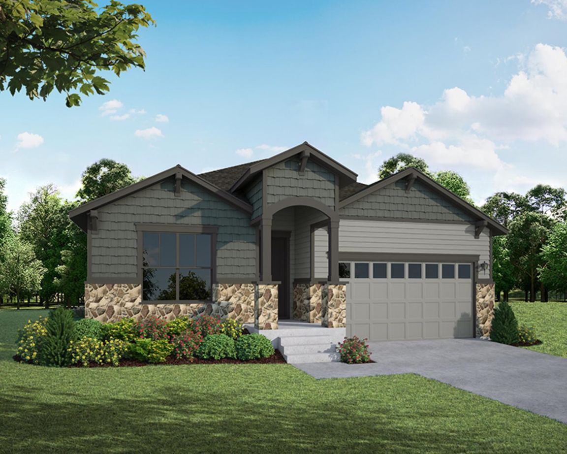 Ready To Build Home In Heritage Ridge Community