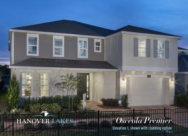 Ready To Build Home In Hanover Lakes Community