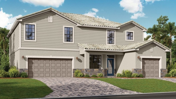 Ready To Build Home In Arborwood Preserve - Manor Homes Community