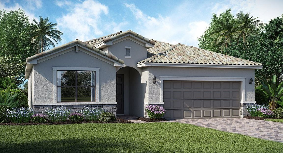 Pelican Preserve Executive Homes Community In Fort Myers Fl Build