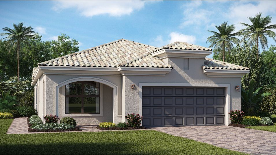 Ready To Build Home In Sarasota National - Patio Homes Community