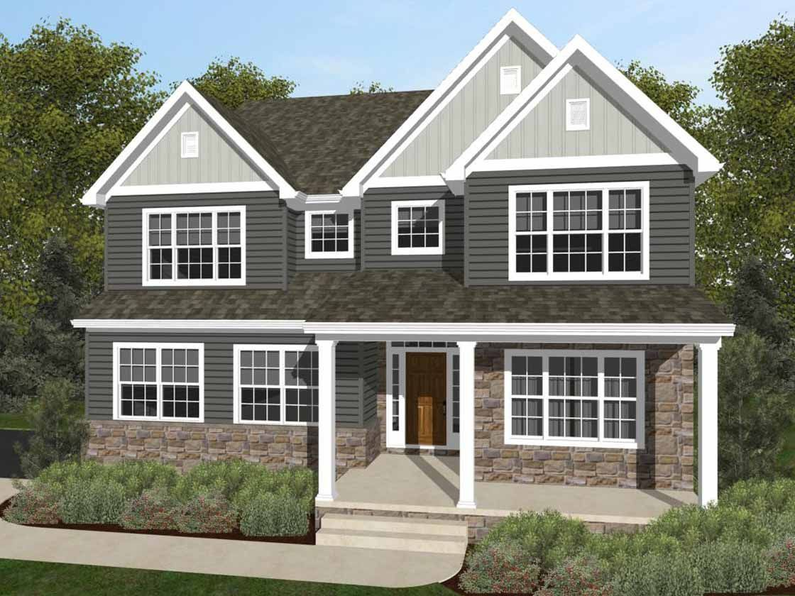 Ready To Build Home In Cloverfield Farms Community