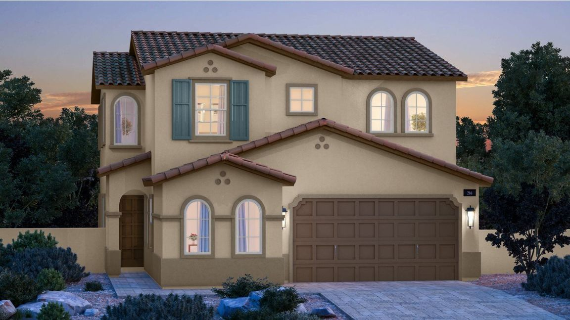 Ready To Build Home In Skye Canyon - Woodlands Community