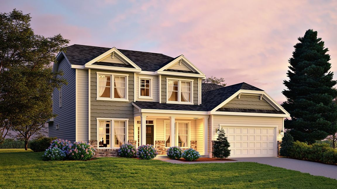 Ready To Build Home In Cameron Woods Community