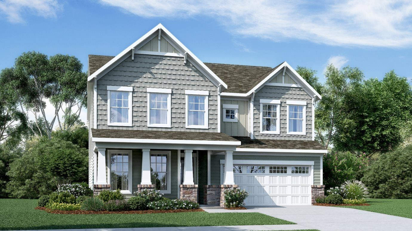 Ready To Build Home In Smith Farm - Farmhouse Collection Community