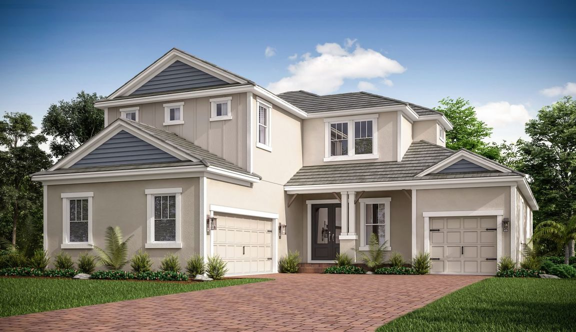 Ready To Build Home In Starkey Ranch - Whitfield Preserve Community