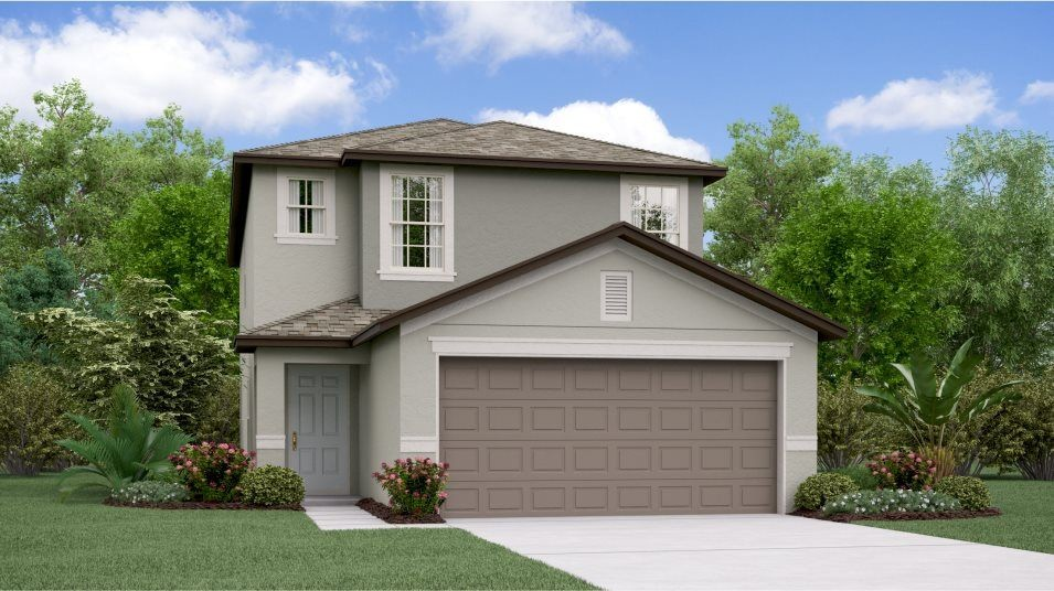 Ready To Build Home In Touchstone - The Manors Community