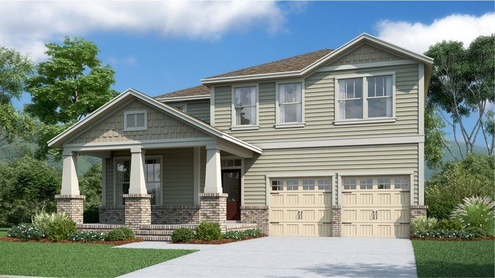 Ready To Build Home In Durham Farms - Classic Parks Collection Community