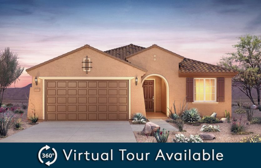 Ready To Build Home In Desert Oasis Community