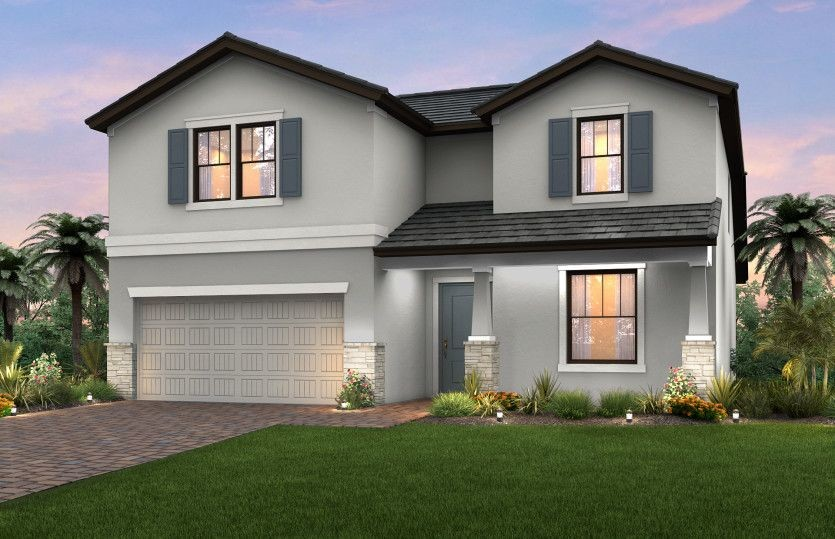 Ready To Build Home In The Place at Corkscrew Community