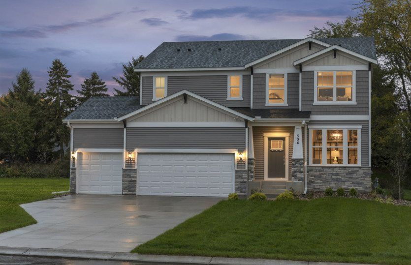 Ready To Build Home In Northport - Expressions Collection Community