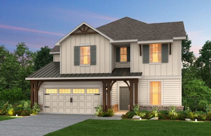 Ready To Build Home In The Crossvine Community