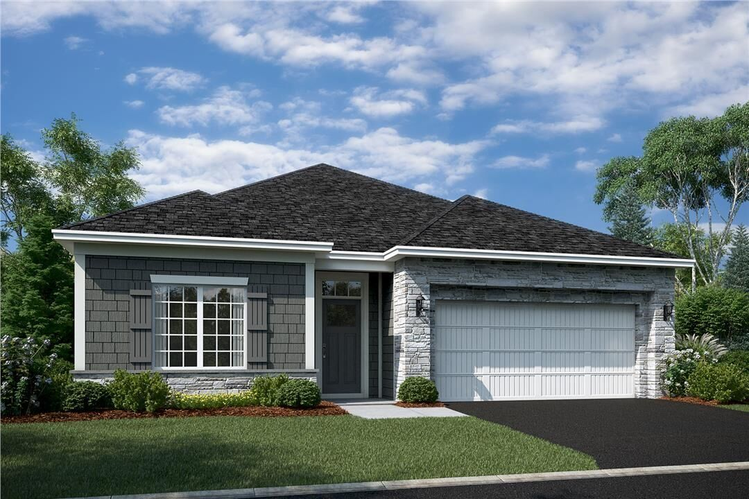 Ready To Build Home In Bass Lake Crossing Community