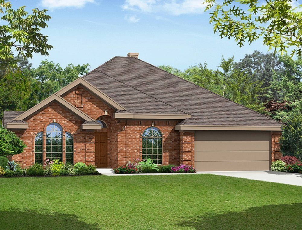 pemberley estates community in mansfield tx build by first texas homes
