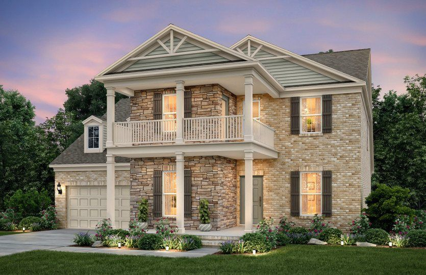 Ready To Build Home In Wynfield Community