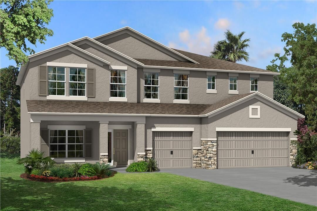 Ready To Build Home In Epperson Community