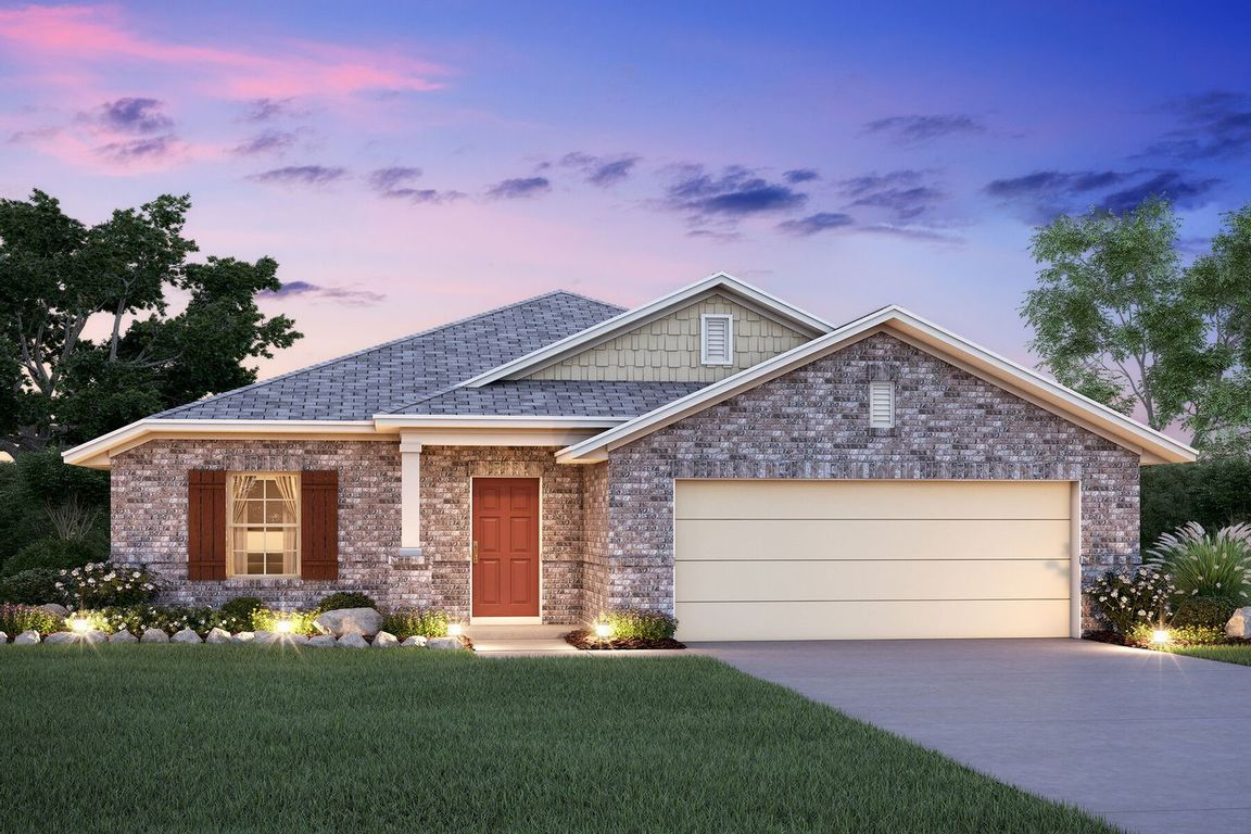 Ready To Build Home In Paloma Community