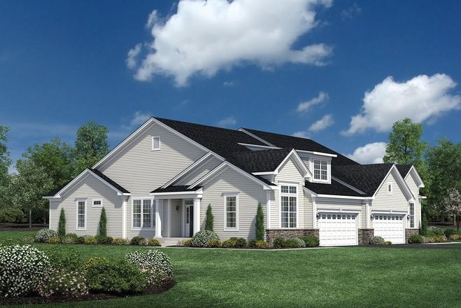 Ready To Build Home In Regency at South Whitehall - Carriages Collection Community