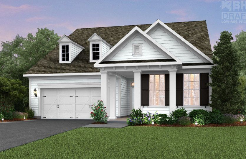 Ready To Build Home In Nottingham Trace Community