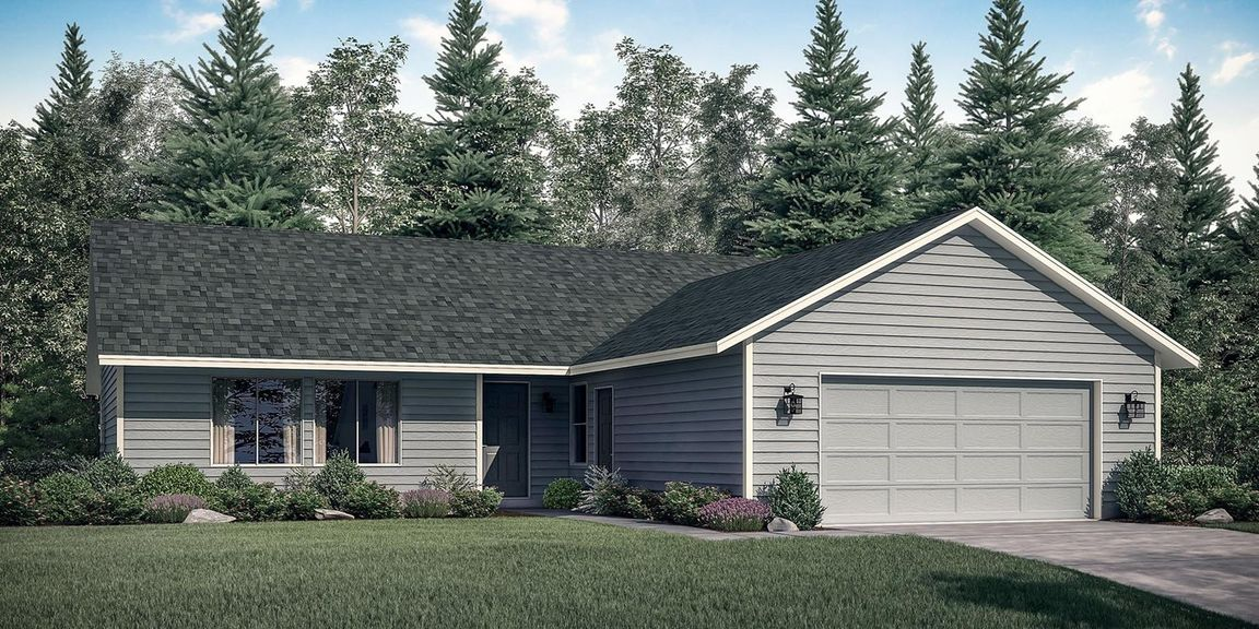 The Odell - Build On Your Lot At Treasure Valley Caldwell ID 83605 id-121015 homes for sale