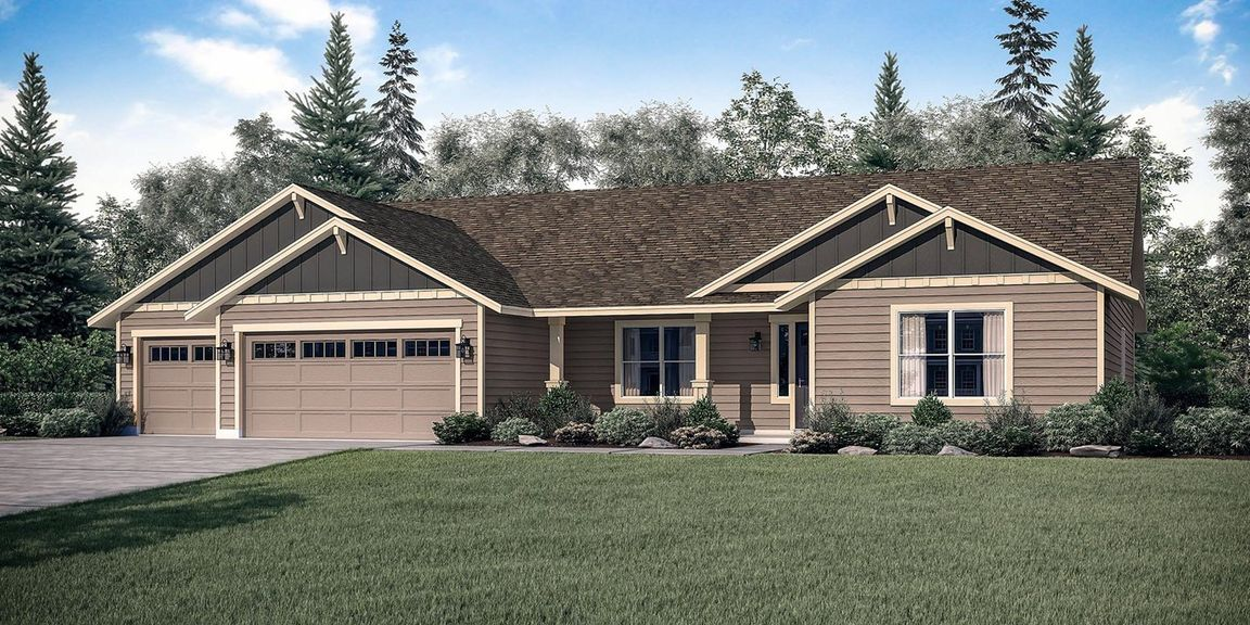 The Mt. Hood - Build On Your Lot At Treasure Valley Caldwell ID 83605 id-121034 homes for sale