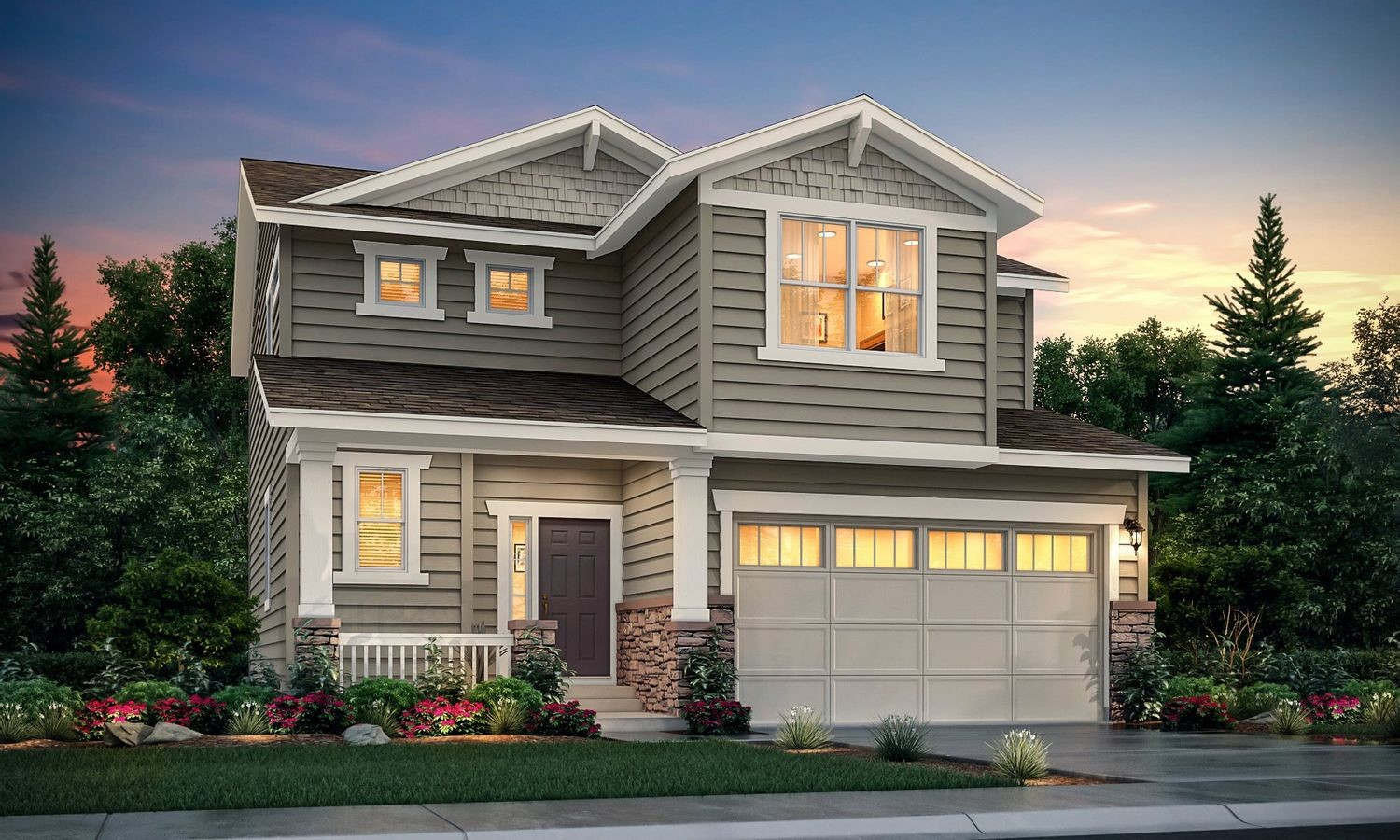 Ready To Build Home In Gold Creek Valley - The Pioneer Collection Community