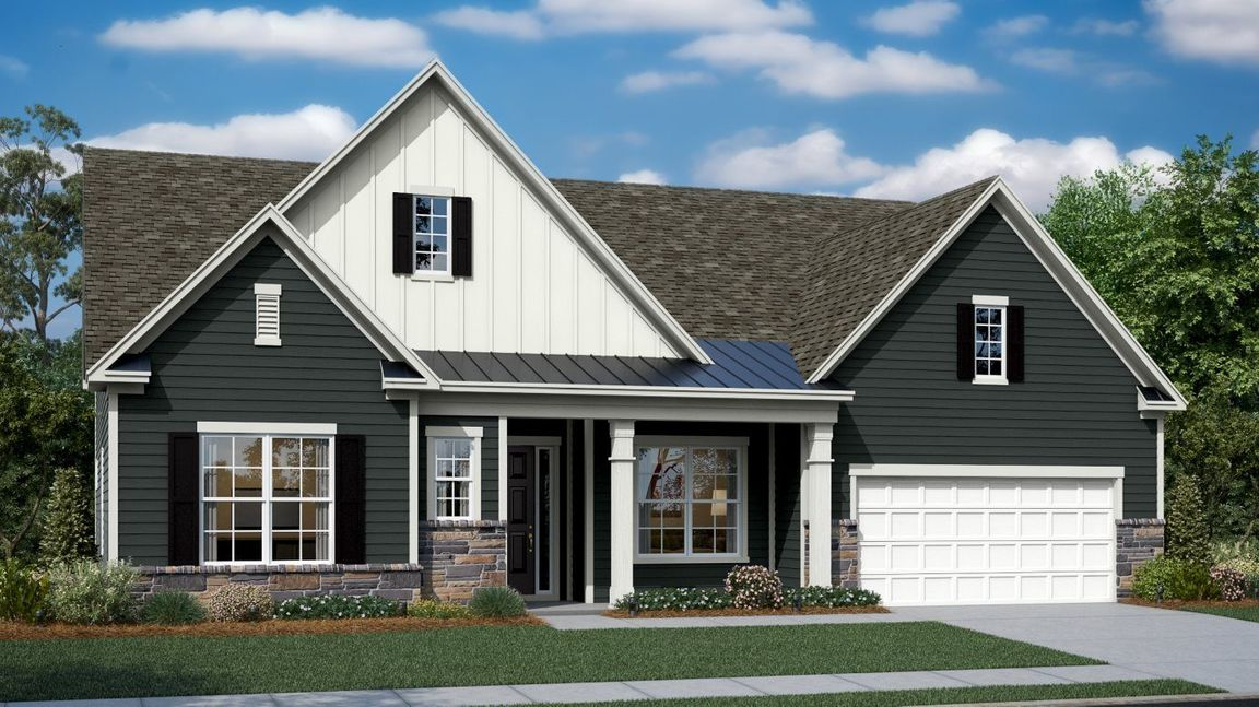 Ready To Build Home In Imagery - Pinnacle Community