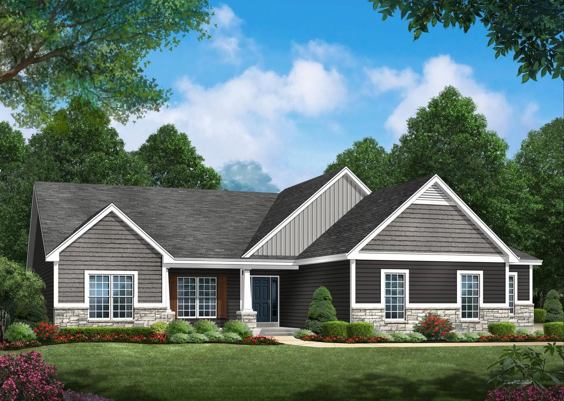 Ready To Build Home In Bur Oaks Community