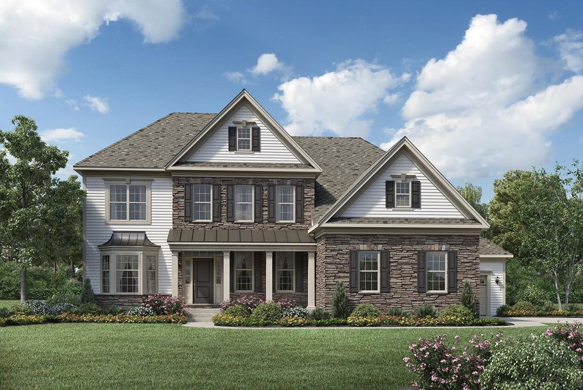 Ready To Build Home In Jordan Pointe Community