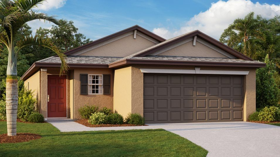 Ready To Build Home In Cypress Mill - The Manors Community