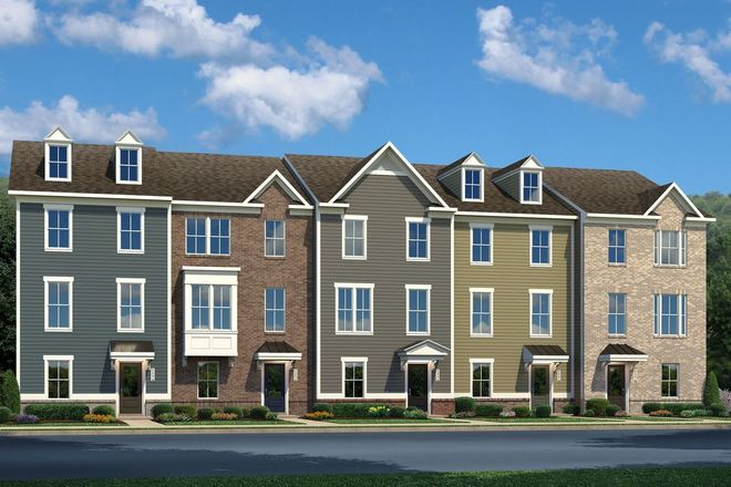 Ready To Build Home In Greenleigh Townhomes Community
