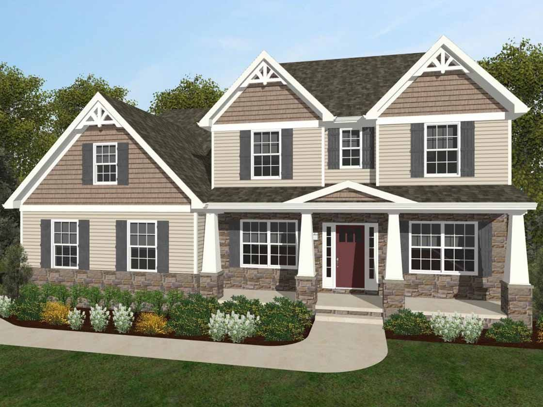 Ready To Build Home In Coventry Reserve Community