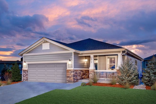 Ready To Build Home In The Lakes at Centerra Community