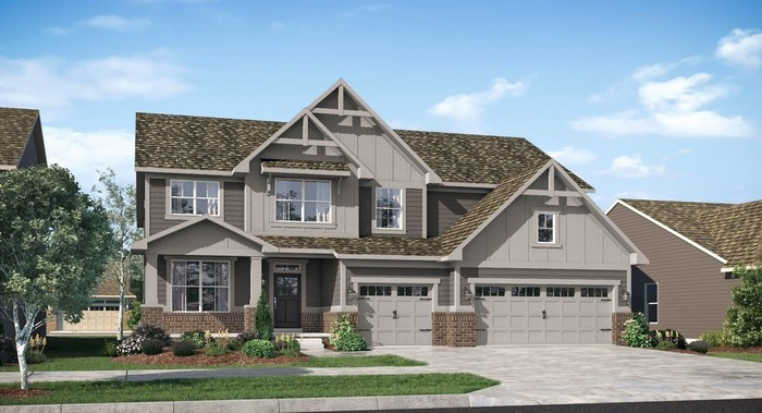 Ready To Build Home In Vermillion - Architectural Collection Community