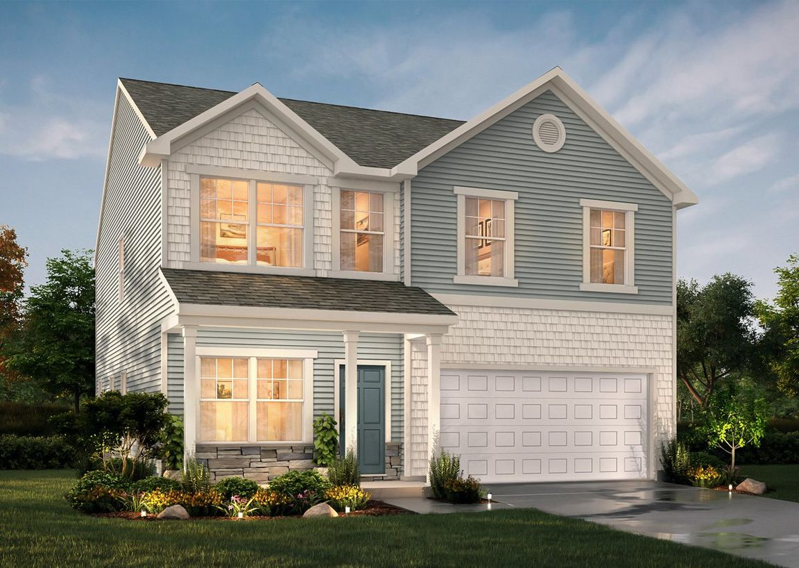 Ready To Build Home In Upper Riverpointe Community