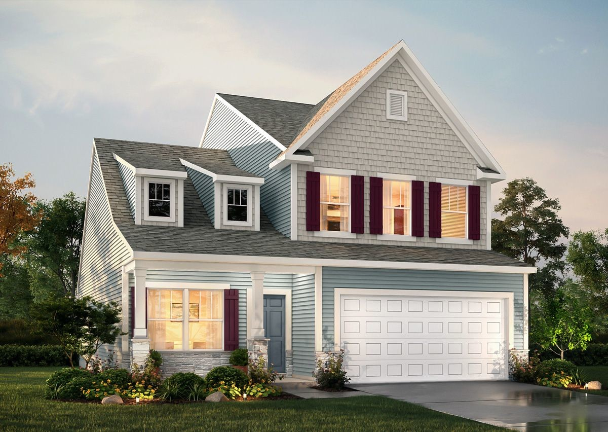Ready To Build Home In Rourk Woods Community