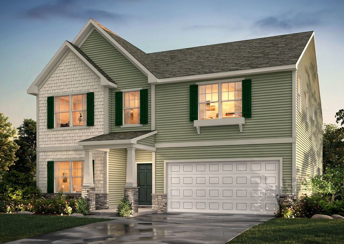 Ready To Build Home In Reedy Fork - Oakgate Community