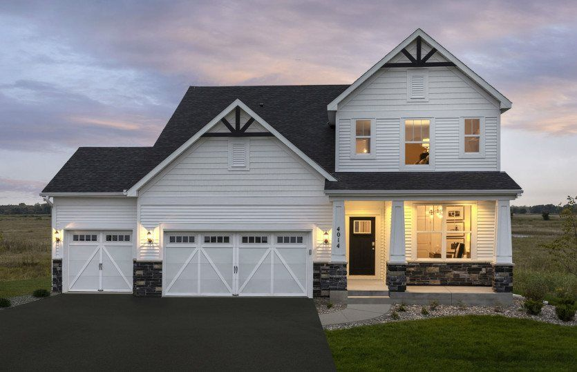 Ready To Build Home In Glen View Farm - Expressions Collection Community