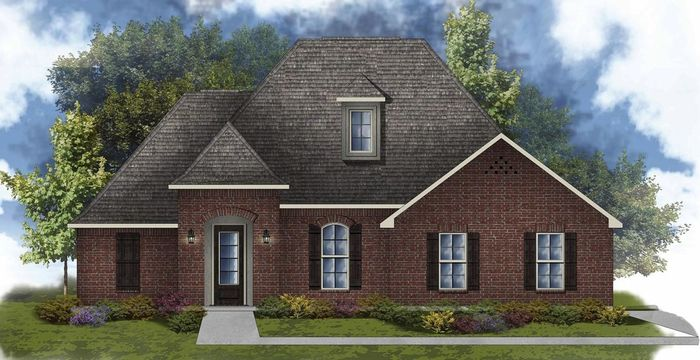 Ready To Build Home In Spring Lakes Community