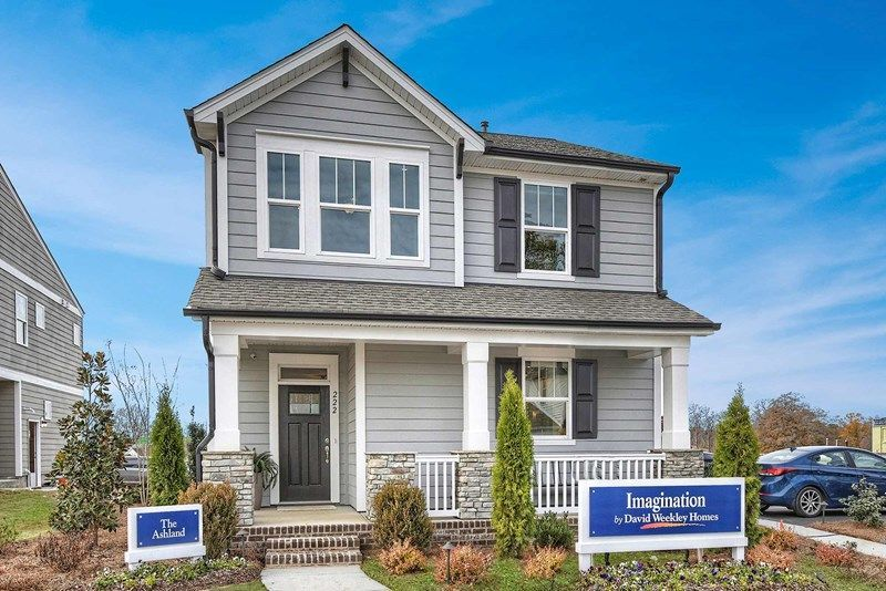 Ready To Build Home In Chadwick Park at Downtown Pineville  - Village Collection Community