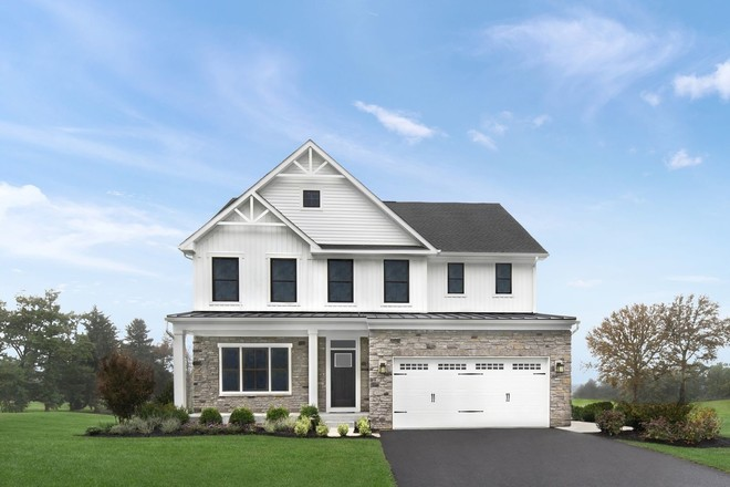 Ready To Build Home In Fayette Farms Single Family Homes Community