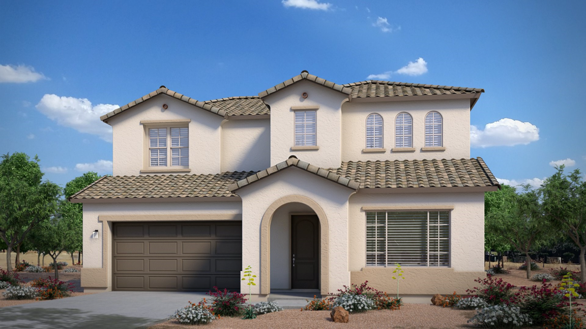Ready To Build Home In Hastings Farms-Creekside Series Community