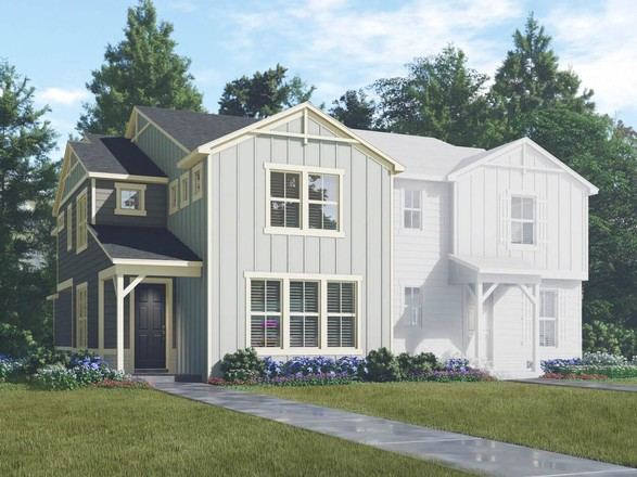 Ready To Build Home In Senderos Creek: The Town Collection Community