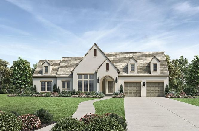 Ready To Build Home In Woodson's Reserve - Estate Collection Community