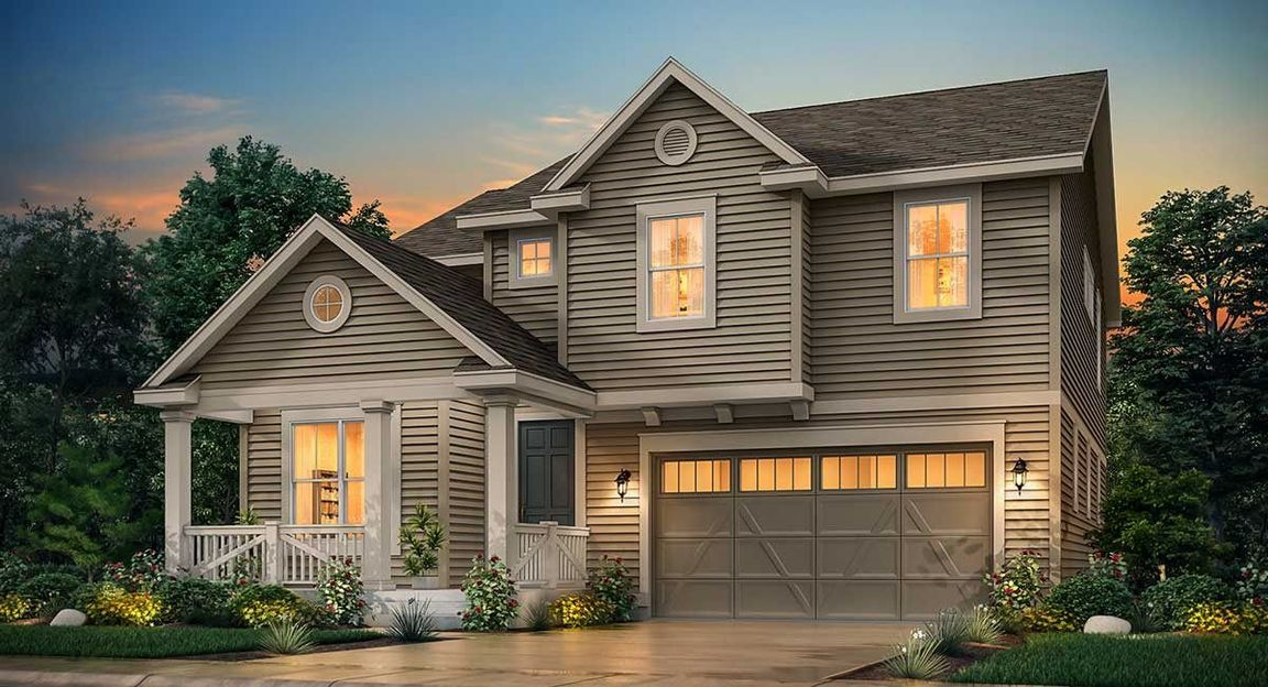 Ready To Build Home In Compass - The Monarch Collection Community