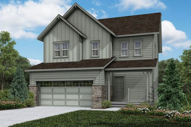 Ready To Build Home In The Villages at Prairie Center Community