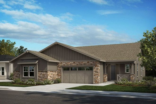 Ready To Build Home In Terrain - Ranch Villa Collection Community